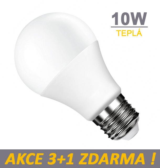 Ledspace LED žárovka 10W SMD2835 800lm E27 CCD Teplá