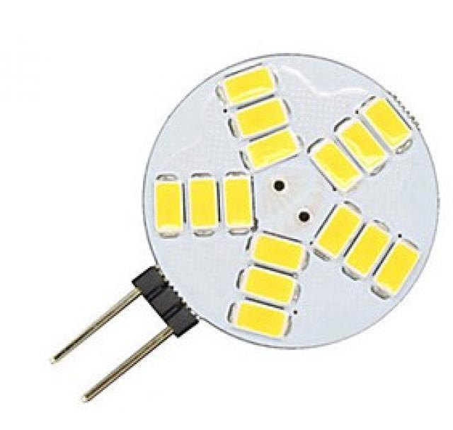 Ledspace LED žárovka 4W 15x2835 G4 400lm 12V DC Teplá
