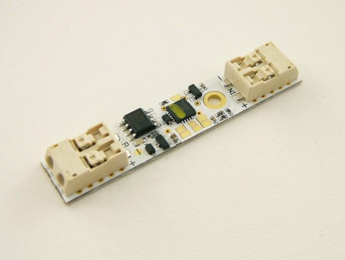 T-LED Dotykový spínač se stmívačem pro LED pásky, montáž do ALU profilu
