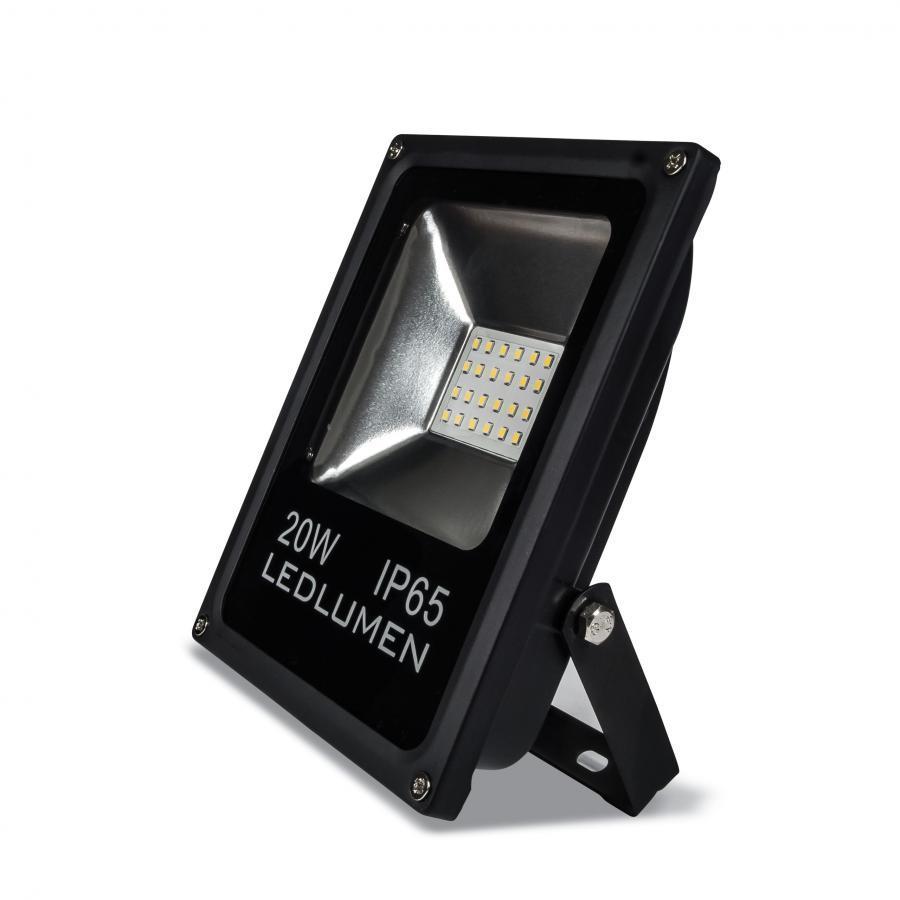 Ledlumen LED reflektor 20W SMD2835 1800lm SLIM Studená