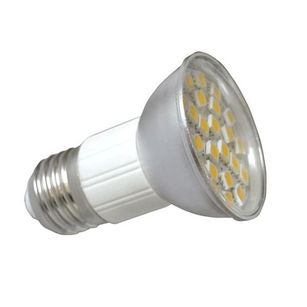 PremiumLED LED žárovka 4,5W E27 27xSMD 380lm Teplá