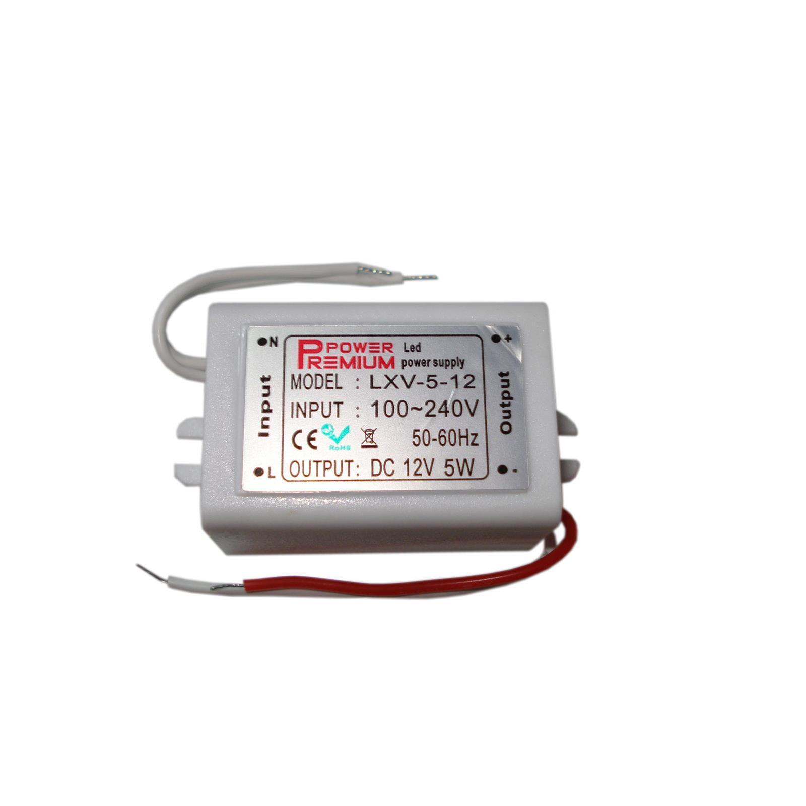PremiumLED Napájecí zdroj MPL 5W 0,42 A 12V DC