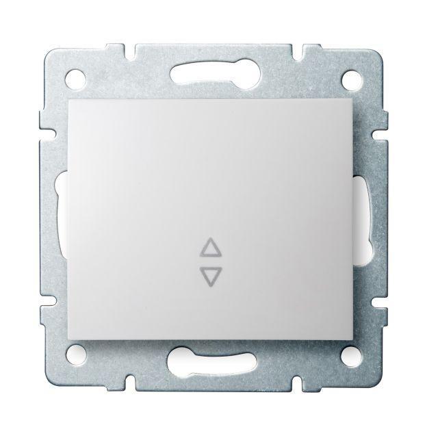 Kanlux 25072 LOGI Schodišťový vypínač - č. 6 - bílá