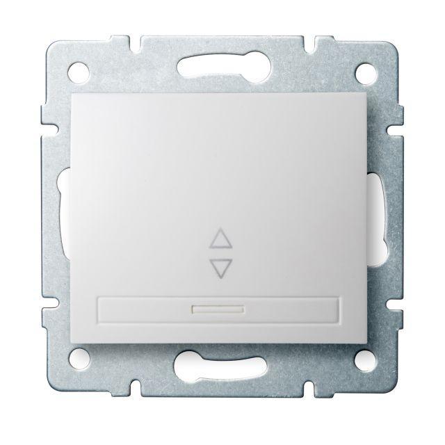 Kanlux 24717 DOMO Schodišťový vypínač - č. 6 - bílá