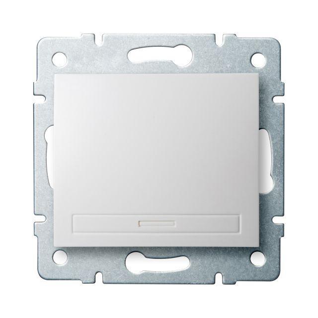 Kanlux 24710 DOMO Jednopólový vypínač - č. 1 - bílá