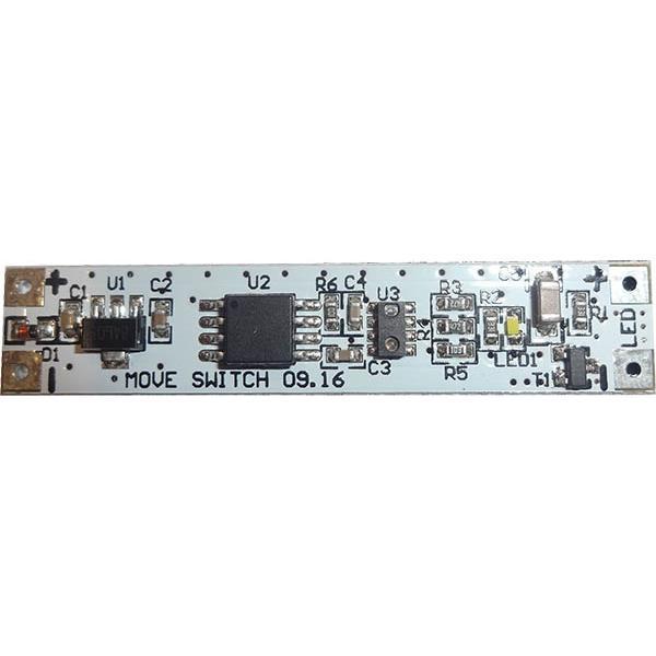 PremiumLED Bezdotykový spínač se stmívačem pro LED pásky MOVE, montáž ALU profil