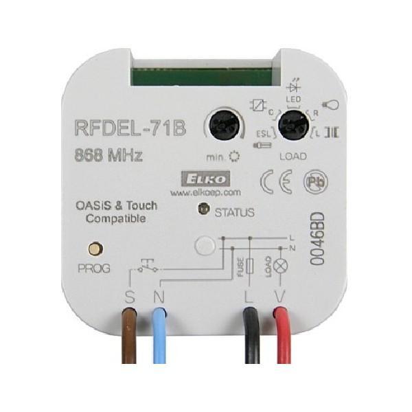 RF Stmívač pro LED a stmívatelné úsporné žárovky