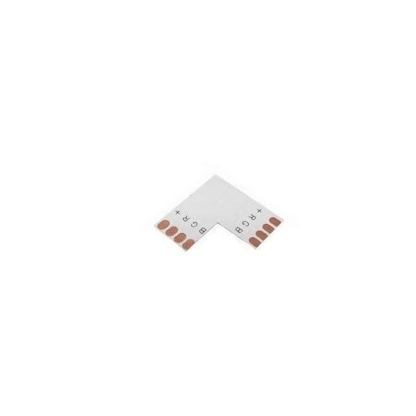 Spojka rohová pro RGB LED pásky o šířce 10mm