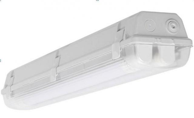 Berge Prachotěsné svítidlo pro LED trubice T8 2x120cm