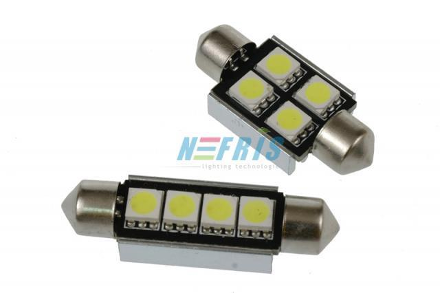 Interlook LED C5W 4 SMD 5050 CAN BUS 42mm