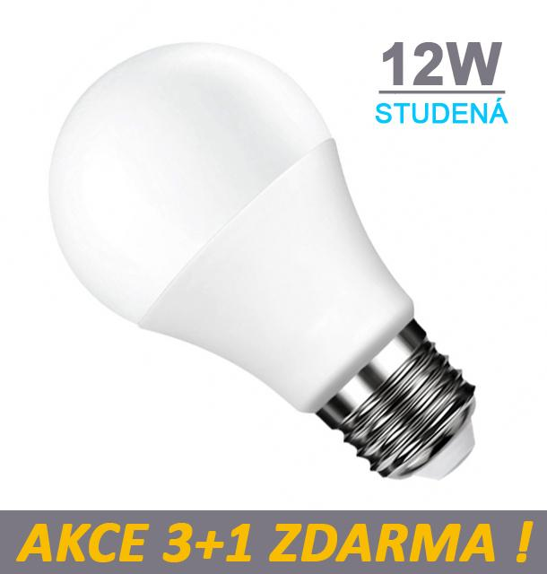 Ledspace LED žárovka 12W SMD2835 990lm E27 Studená