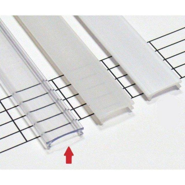 LEDLabs Transparentní difuzor KLIK pro profily LUMINES X 1m