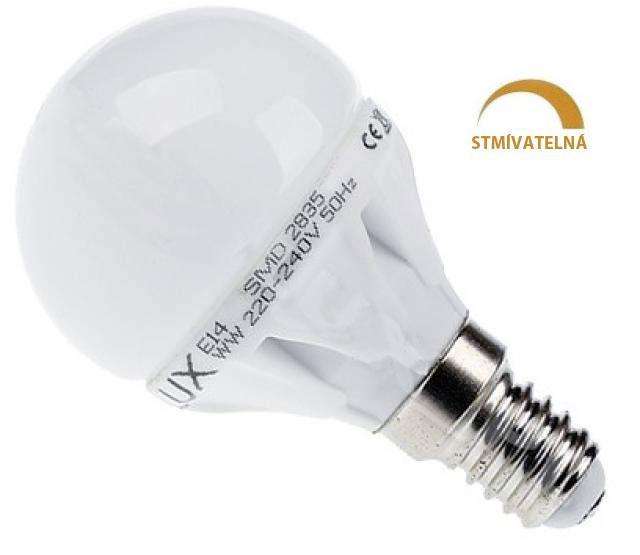 Ledspace LED žárovka 8W 13xSMD2835 E14 750lm Teplá bílá Stmívatelná