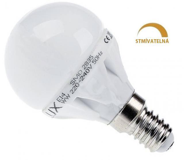Ledspace LED žárovka 8W 13xSMD2835 E14 750lm Studená Stmívatelná