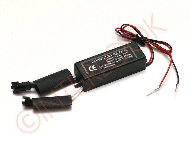 Interlook 12V DC CCFL 900V 5mA - 8mA pro BMW Ring Angel-Eyes