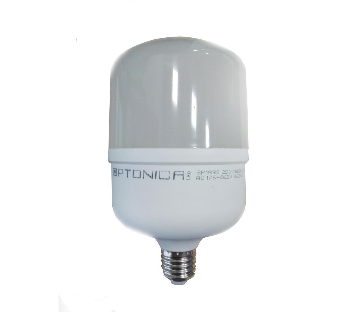 Optonica LED žárovka E27 T100 25W 30xSMD2835 2300lm CCD Neutrální