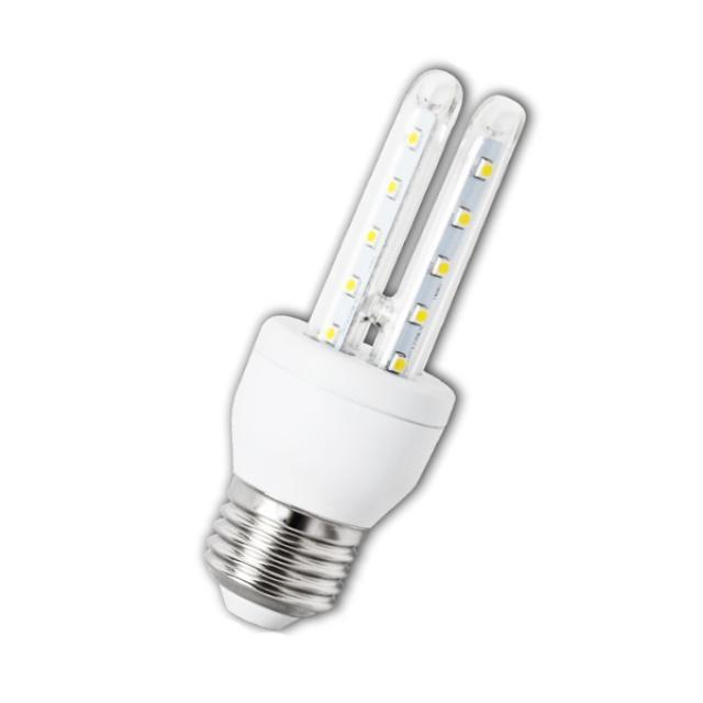 Berge LED žárovka 6W 48xSMD2835 E27 B5 480lm Studená