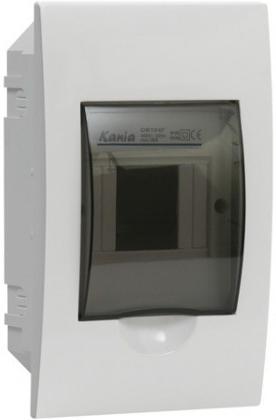 Kanlux 03840 DB104F 1X4P/FMD - Plastový rozváděč