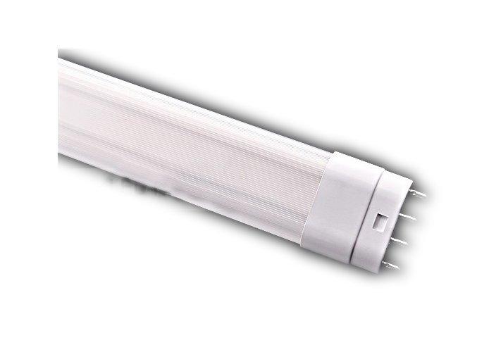 LED štvorpinová žiarivka 18W/2G11-matná