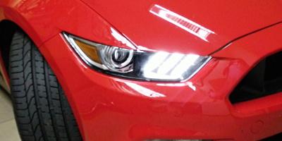Zprovoznění denního svícení u Ford Mustang 2016