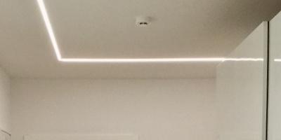 Soukromý dům - osvětlení koupelny a chodby, Beroun