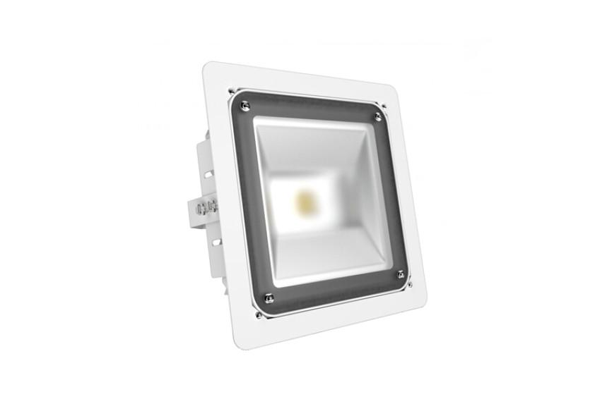 LED osvětlení čerpací stanice