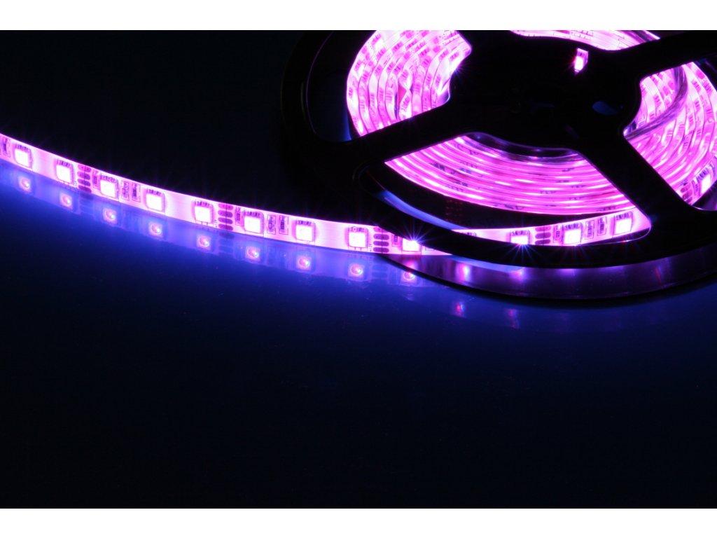 LED pásek samolepící 14,4W/m, IP54 - RGB