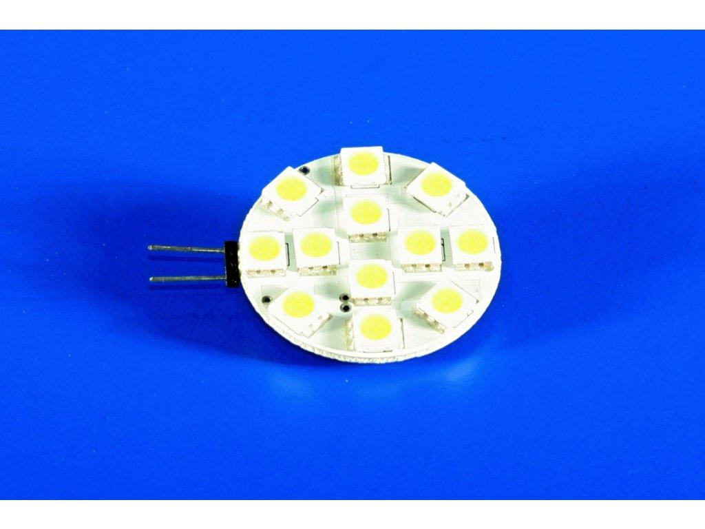 LED žárovka G4 2W (teplá bílá)