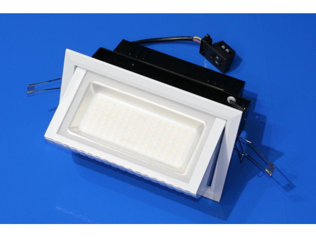 LED zápustné stropní světlo 38W, denní bílá