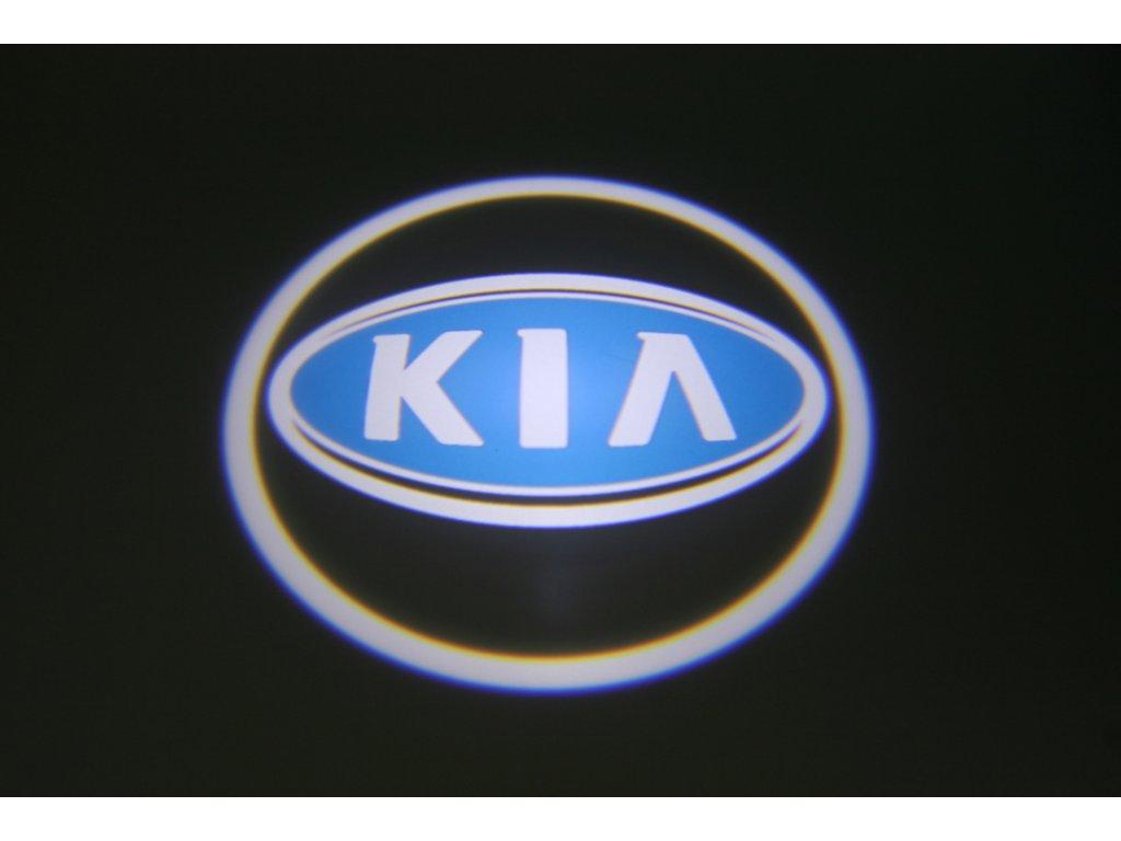 LED znak - podsvícení dvěří – Kia