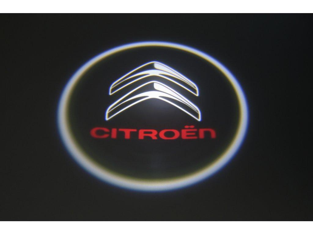 LED znak - podsvícení dvěří – Citroën