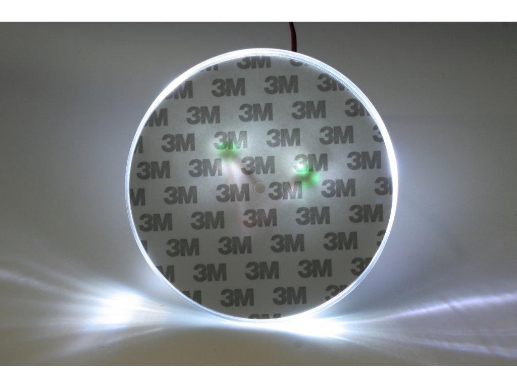 LED znak - podsvícení znaku – Volkswagen Bora (bílá)
