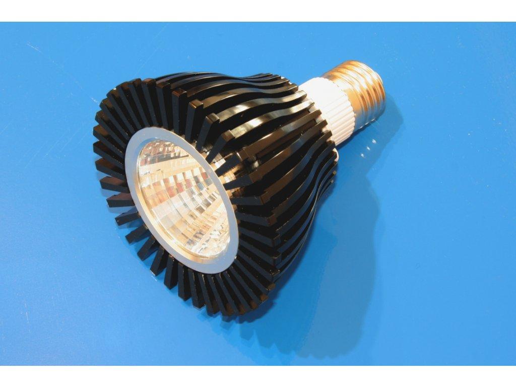 LED žárovka E27 - PAR38 20W COB - studená bílá