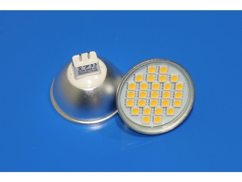 LED bodovka MR16 4,5W - teplá bílá