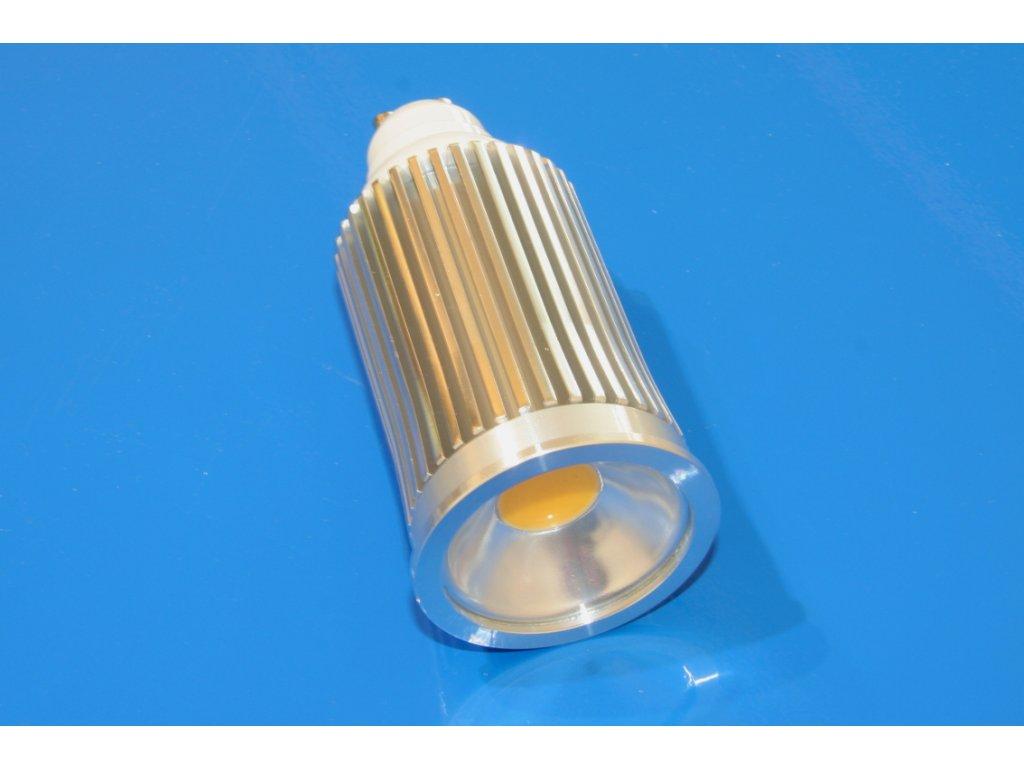 LED bodovka GU10 10W - teplá bílá
