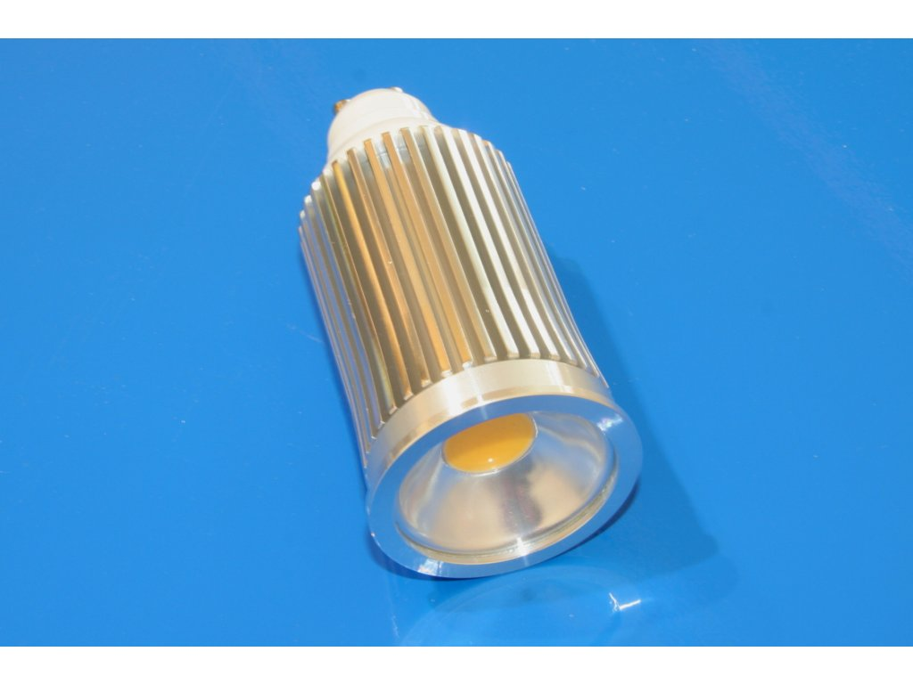 LED bodovka GU10 10W - studená bílá