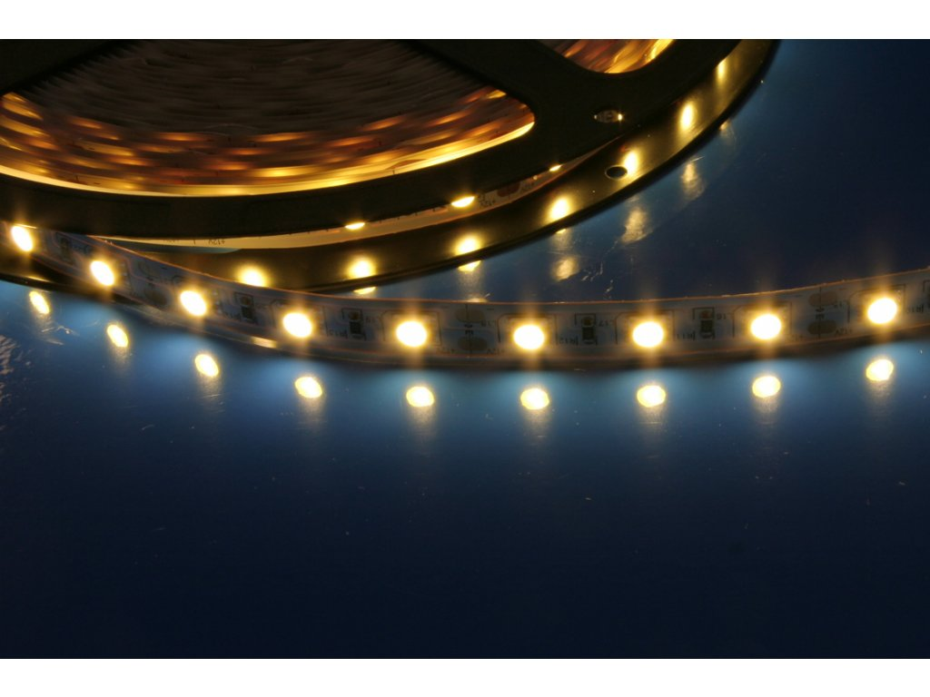 LED pásek samolepící 14,4W/m, IP20, 3000K, teplá bílá