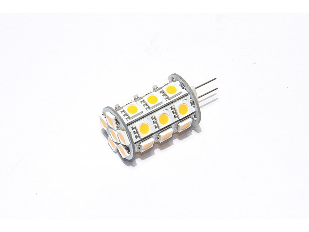 LED žárovka G4, 3,5W, 12V, 300lm, 3000K