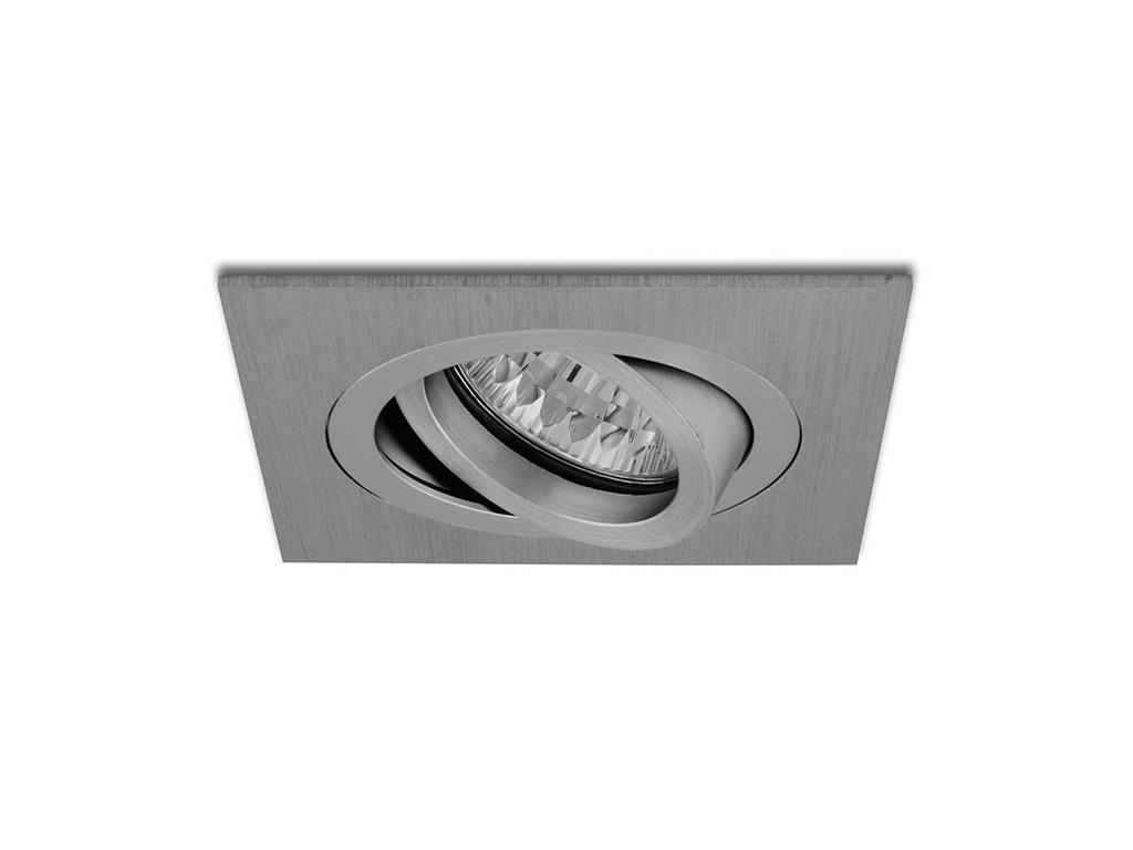 vyklopny podhled hranaty stribrny aluminium hvd hr50 al