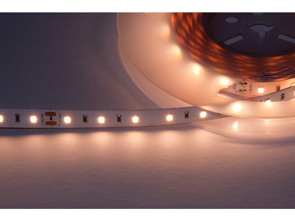 LED pásek samolepící 12W/m, 24V, 1300lm, IP20, Ra>90