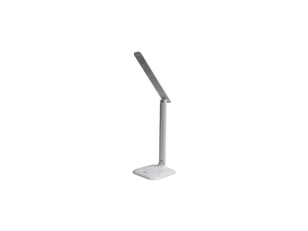 LED stolní lampička ROBIN - bílá, černá
