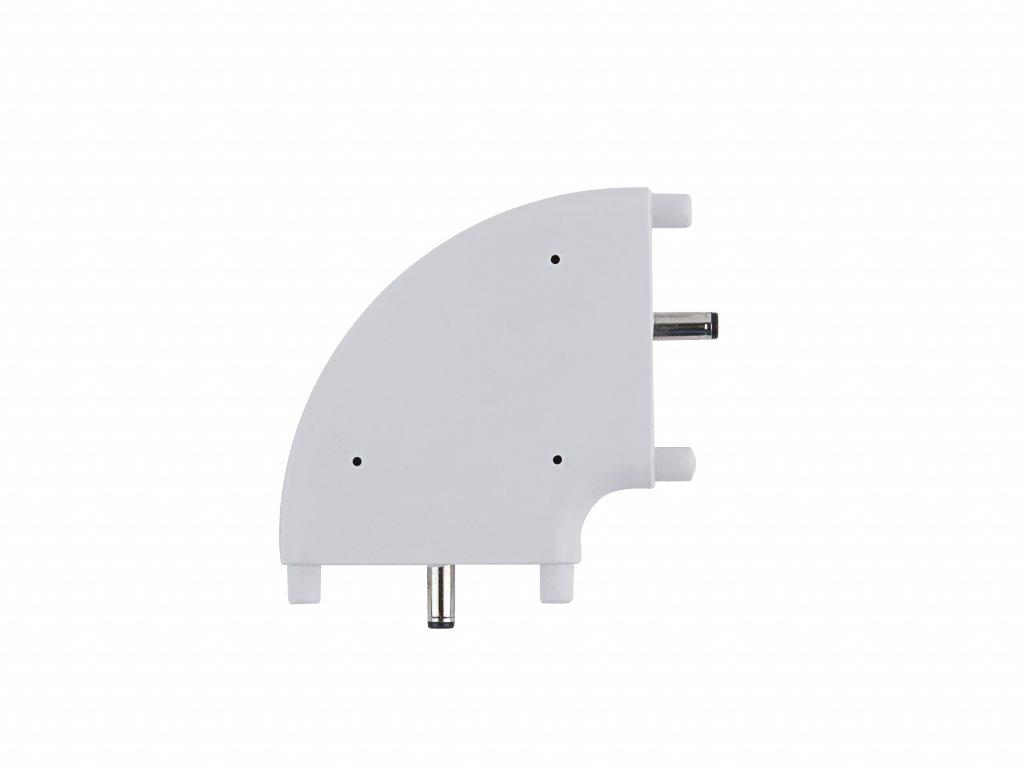 C15 flat corner connector
