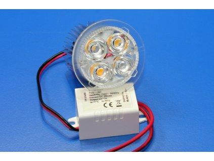 LED bodové svítidlo zápustné 5W - teplá bílá, 3000K