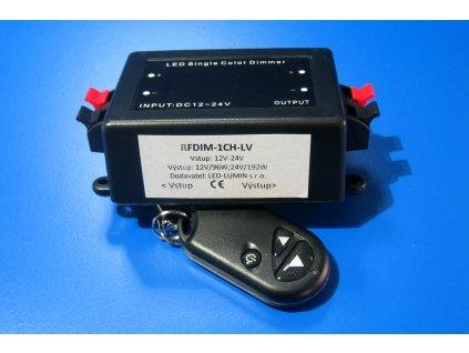 Stmívač pro LED pásky, 12V/96W-24V/192W