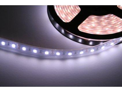 LED pásek, voděodolný, IP68, studená bílá 14,4W/m