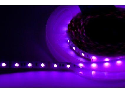 LED pásek samolepící 24V, 14,4W/m, IP20 - RGB