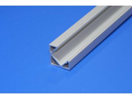 Hliníkový profil pro LED pásky NE-ANGLE2-45, rohový, úhel 45°, délka 2m/ks, eloxovaný hliník