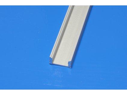 Hliníkový profil pro LED pásky NE-FLAT2-HM, délka 2m/ks, eloxovaný hliník