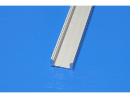 Profil pro LED pásky NE-FLAT2-HM, délka 2m/ks, eloxovaný hliník