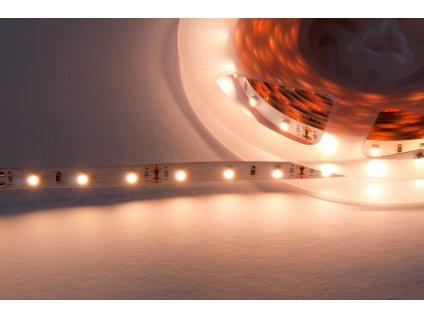 LED pásek samolepící 4,8W/m, 24V, 470lm, IP20, Ra>90